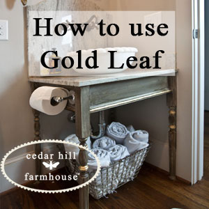 how-to-gold-leaf