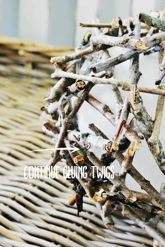 wood twig project
