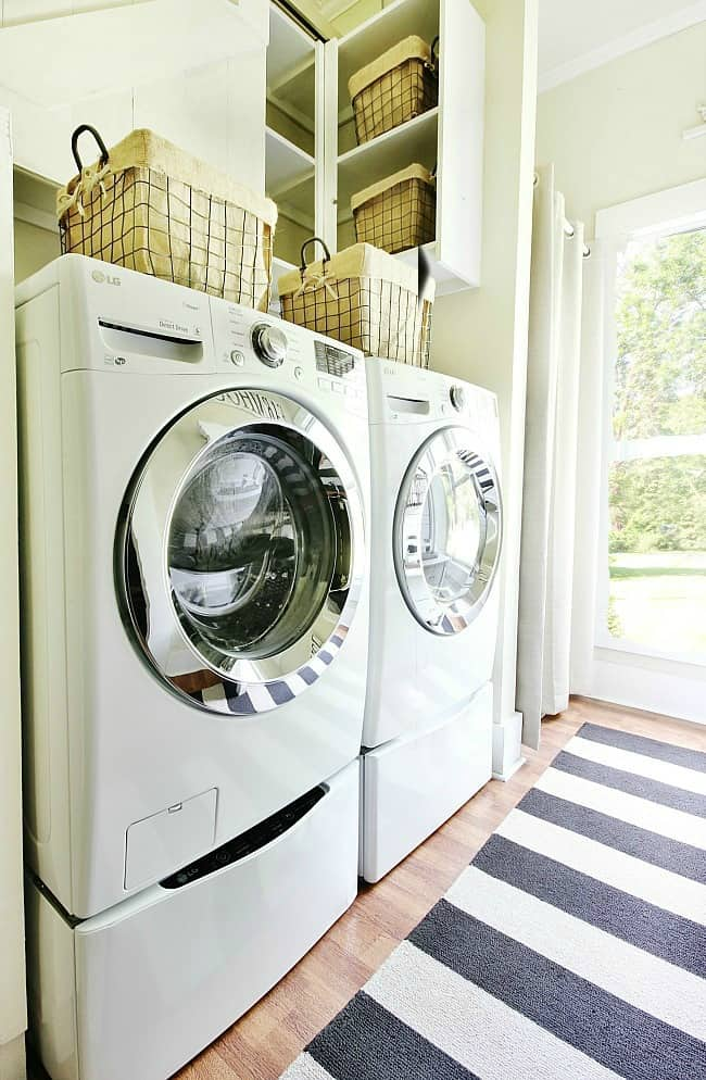 laundry-room-dryer and washer