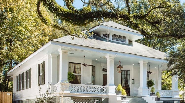 Southern Romance House Exterior