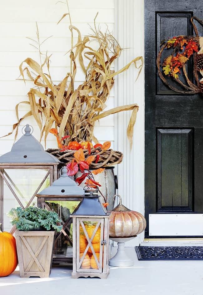 fall door farmhouse