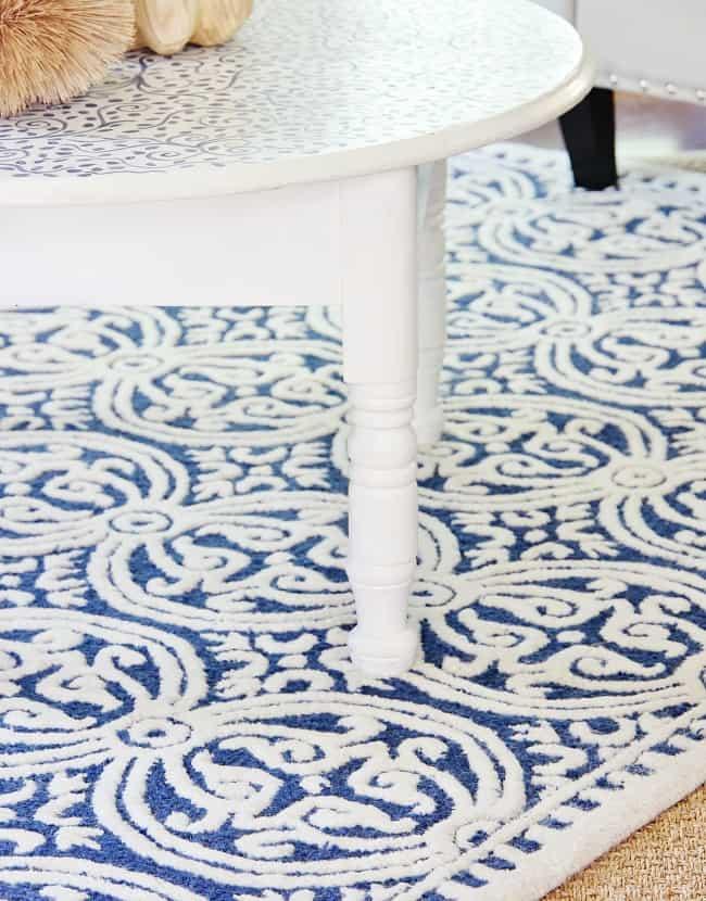 layered rug