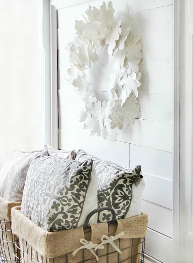 leaf-paper-wreath