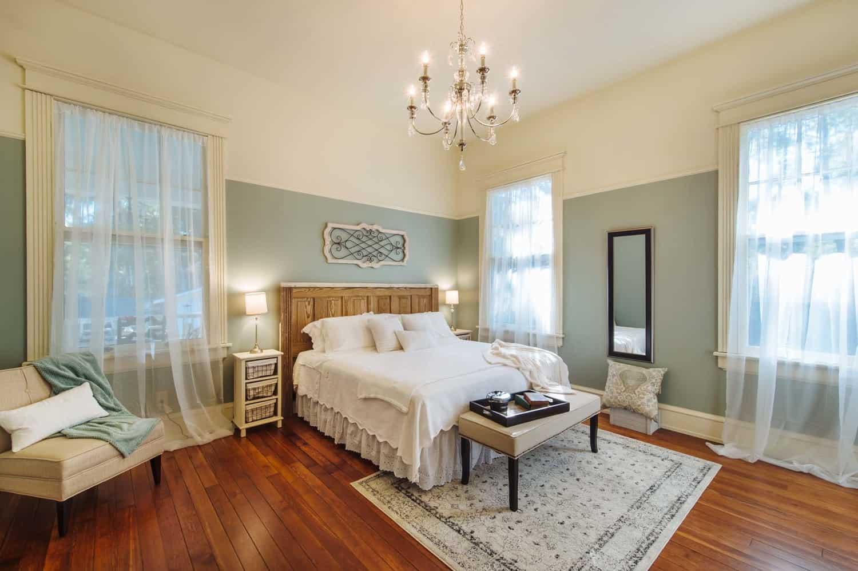 Master bedroom after the renovation