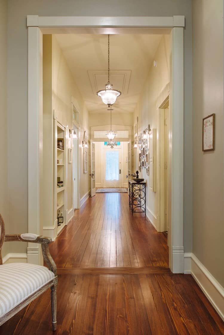 Southern Romance House front hall reveal