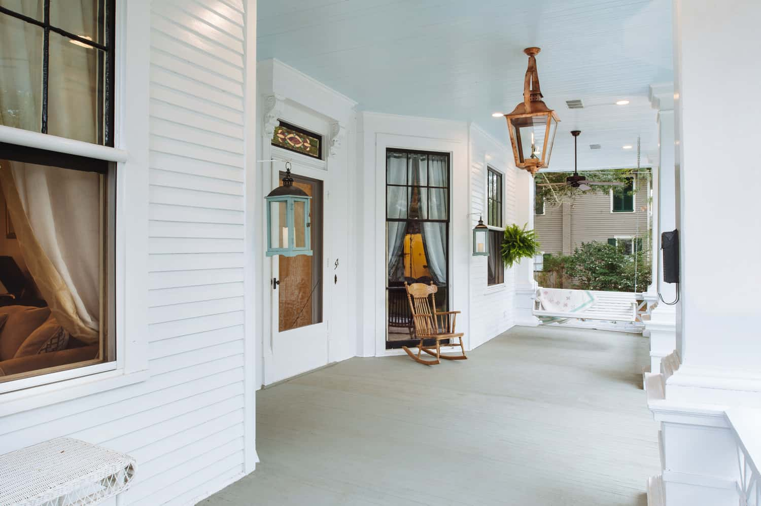 Front porch after some renovation