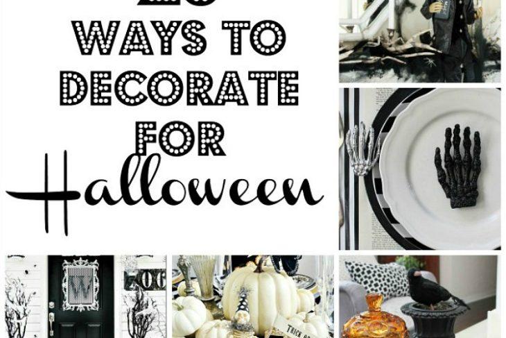 Twenty Ways To Decorate For Halloween