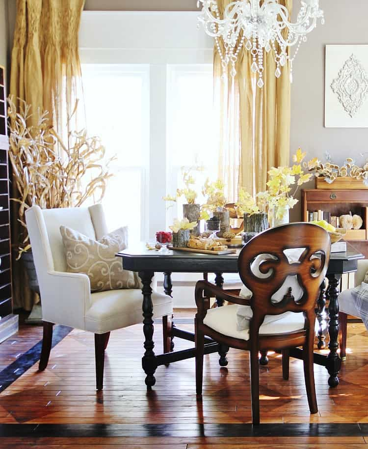 This farmhouse dining room makeover will help improve and transform any space.
