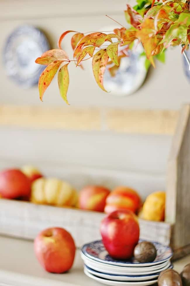 Fall colors and elements are easy to incorporate in your home