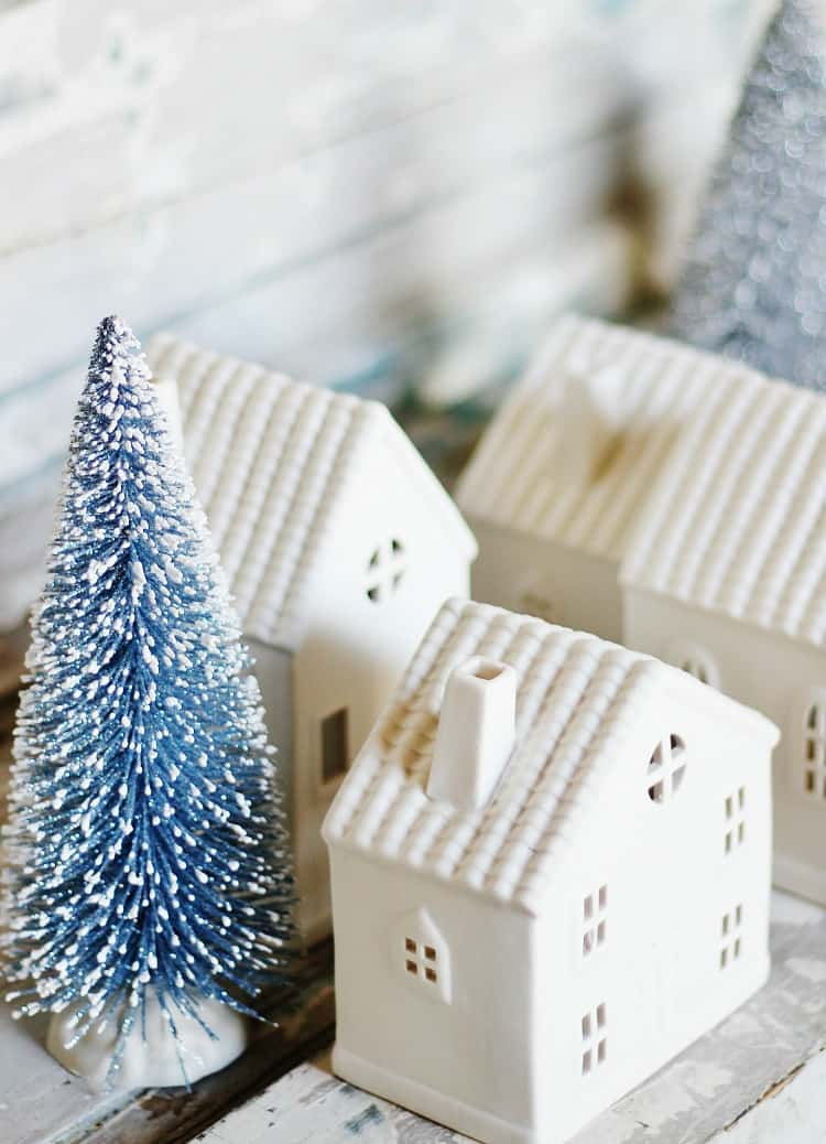 ceramic houses christmas - Target Christmas Decorations 2016