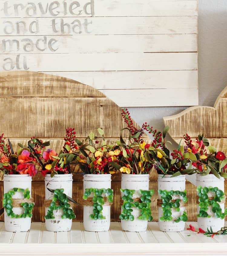 mason-jar-centerpiece-with-flowers