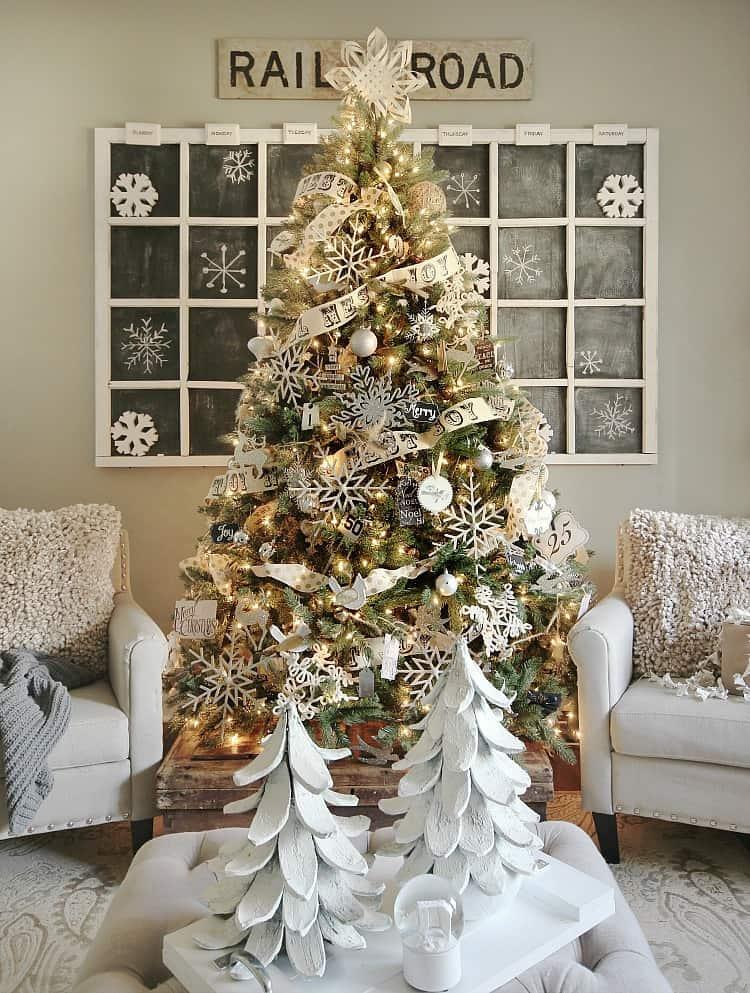 christmas-tree-2016 handmade ornaments