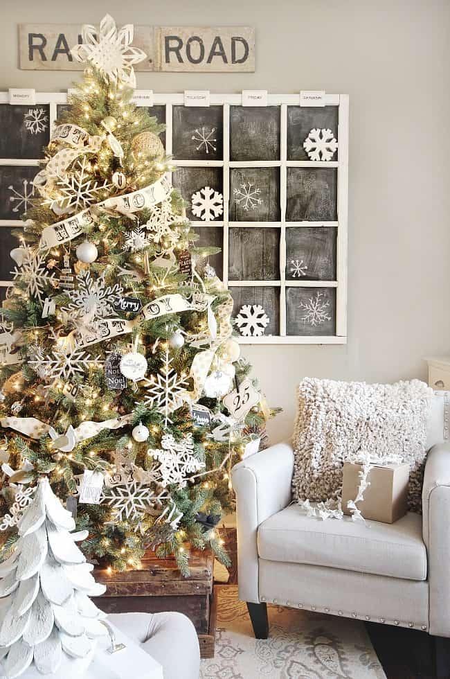 christmas-tree-neutral handmade ornaments