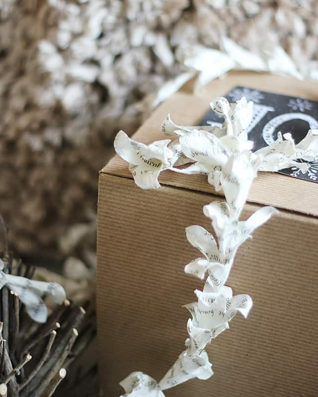 package-paper-trim handmade ornaments