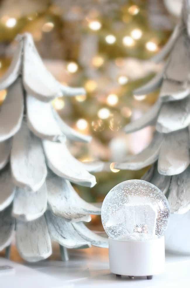 snow-globe-christmas handmade ornaments
