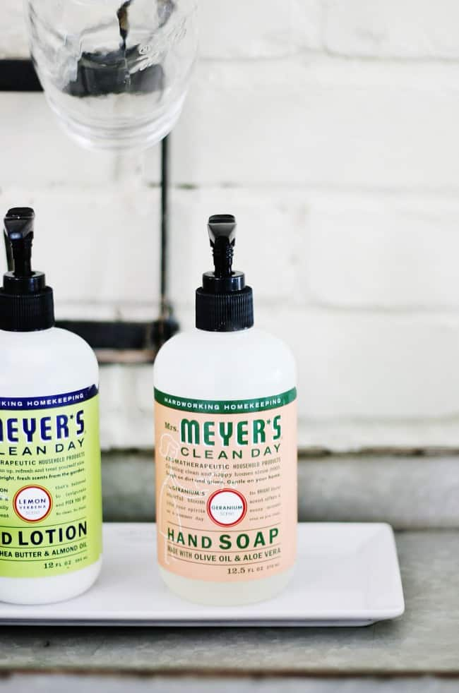 Mrs. Meyer's soaps are a favorite, but their scents never disappoint either.