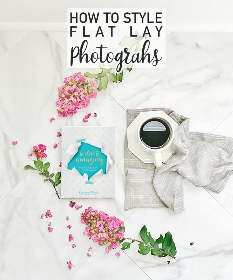 How to style your flat lay photos