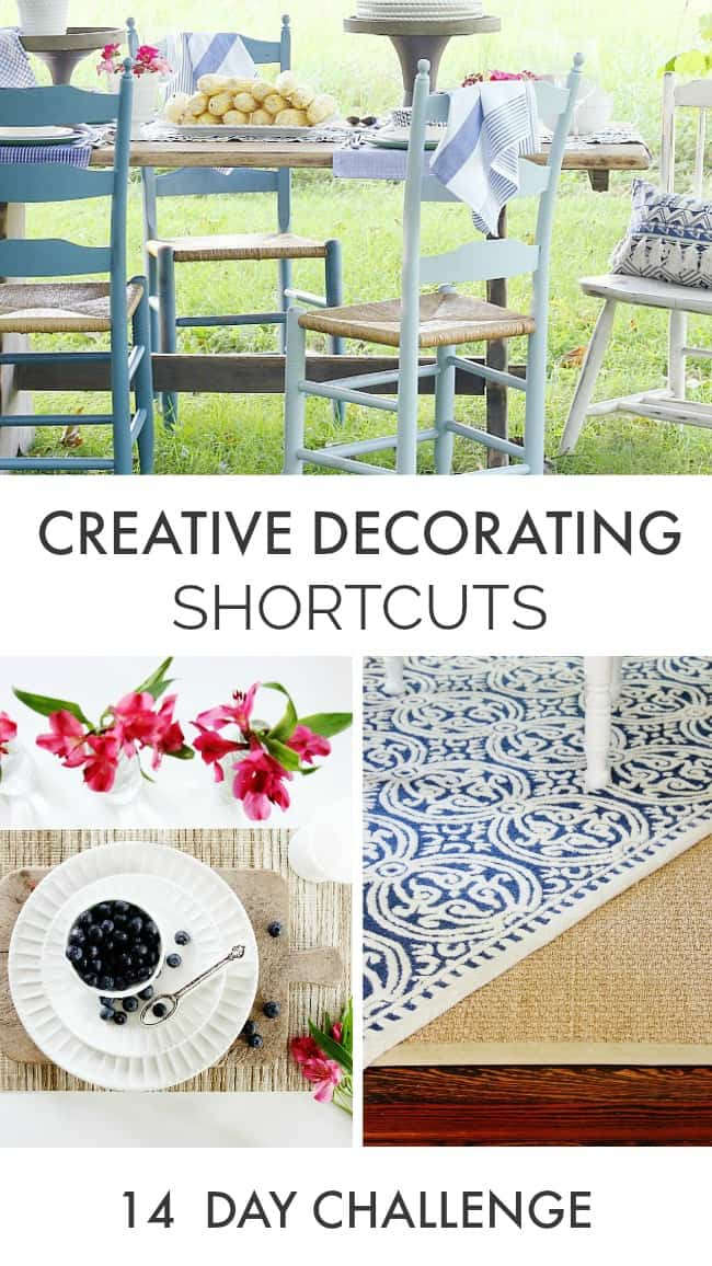 These creative decorating shortcuts are easy and effective.