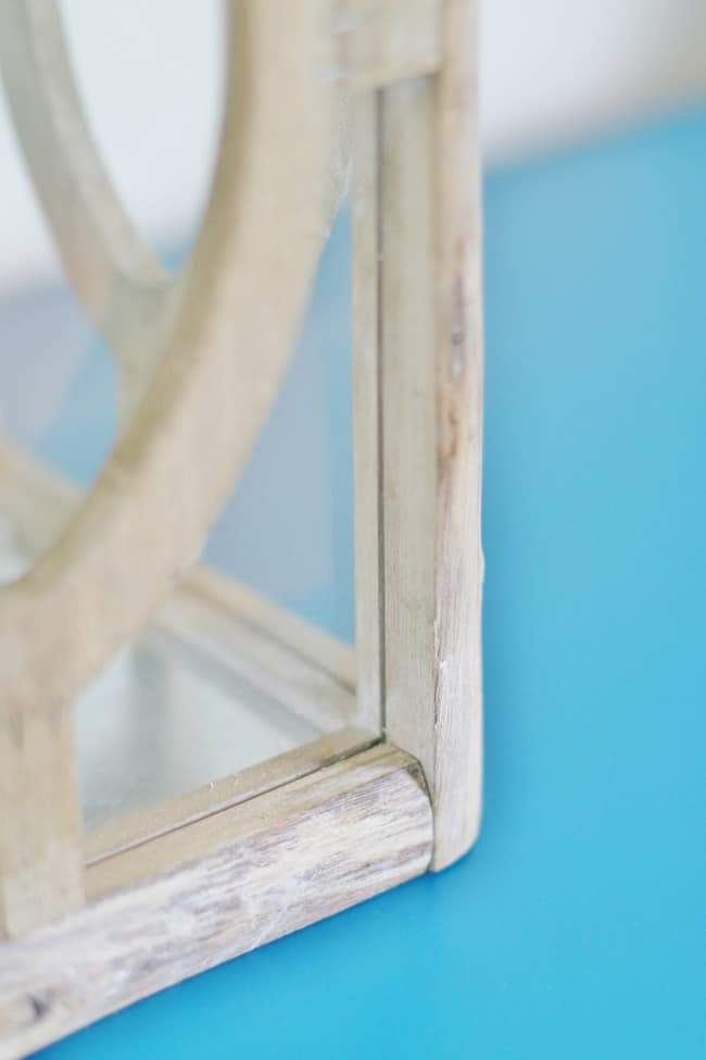 Here's a close up of the table with a little reclaimed wood.