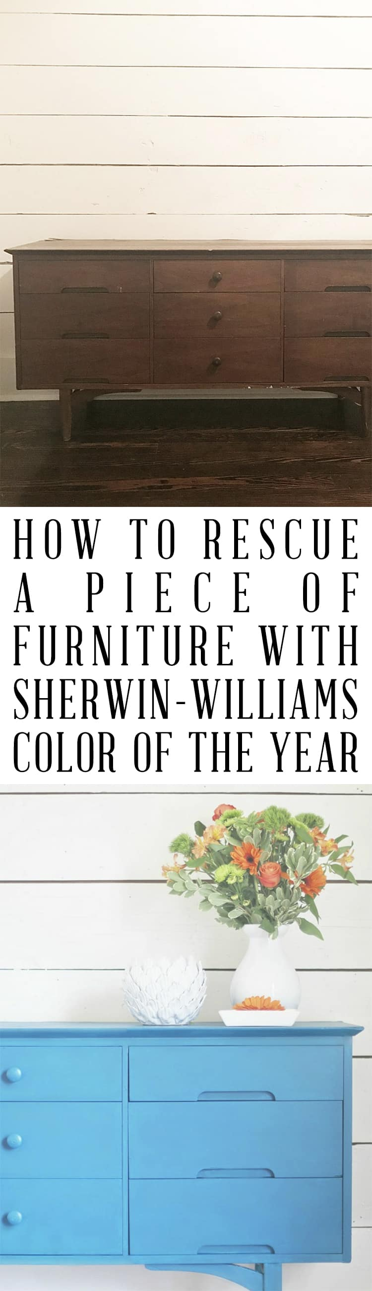 How to rescue a piece of furniture with a simple coat of paint