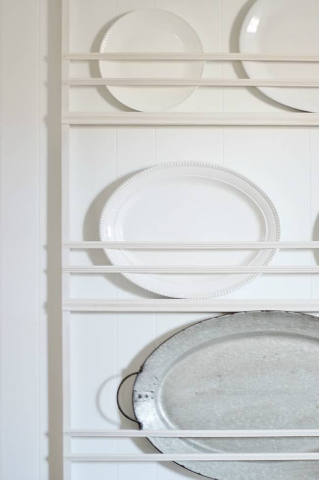 ways to update your home with a plate rack