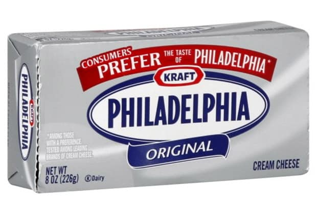 Keep cream cheese on hand during the holidays