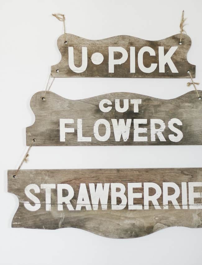 painted wooden sign ideas vintage sign