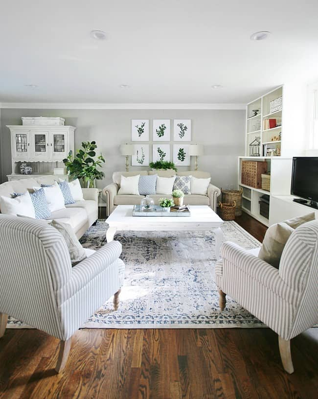 ideas for art family room