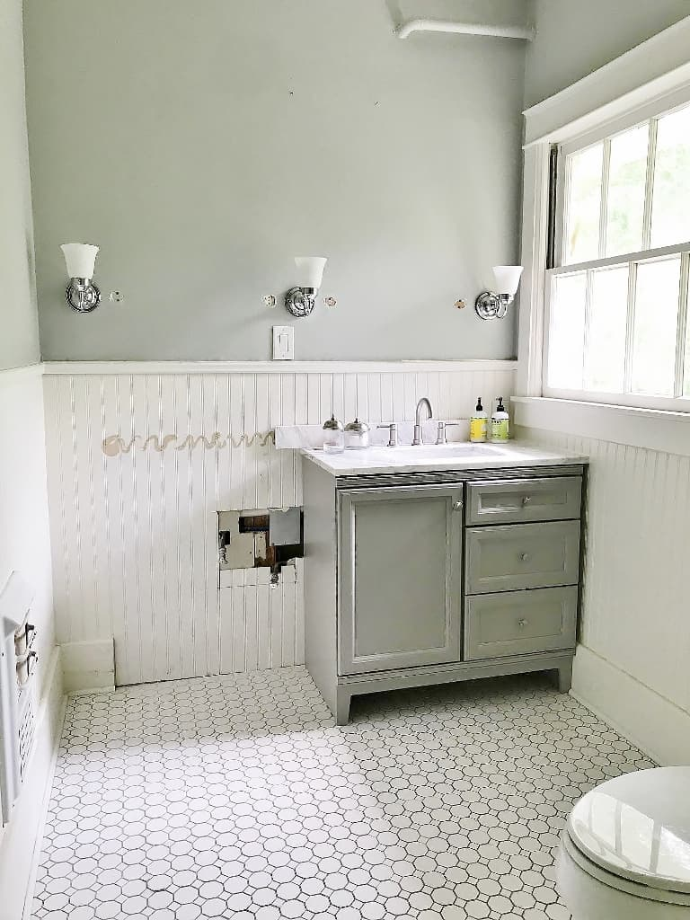 Sherwin Williams Sandbar Bathroom Before And After Thistlewood Farm,Make Ahead Thanksgiving Side Dishes