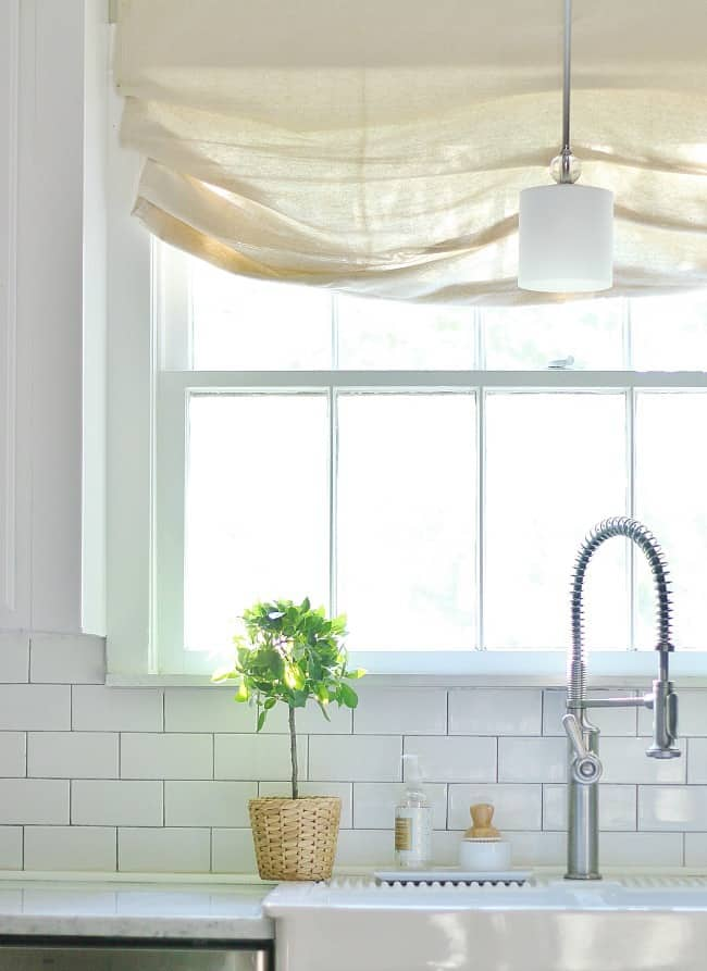 declutter your home sink area