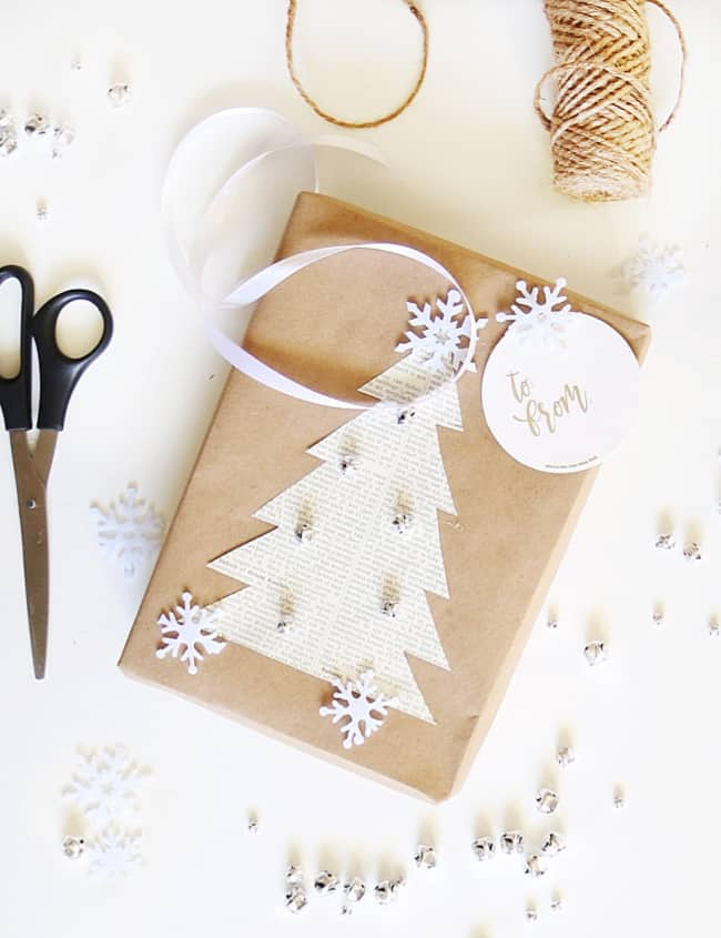 Easy Diy Wrapping Paper For Christmas Thistlewood Farm