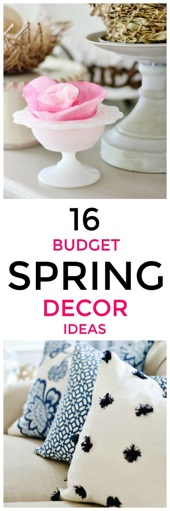 16 Budget Spring Decor Ideas Thistlewood Farm