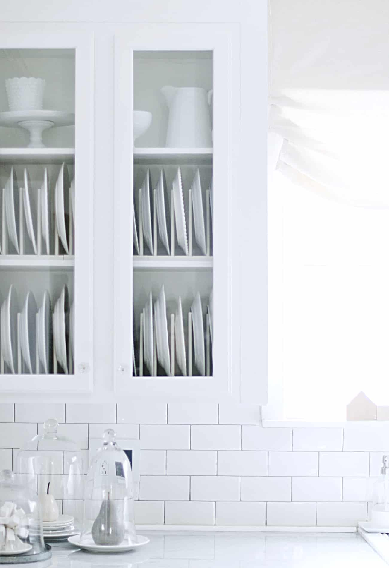 how to update a kitchen on a budget plate racks