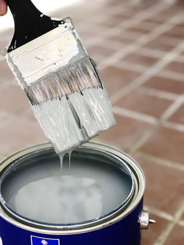 porch brick paint