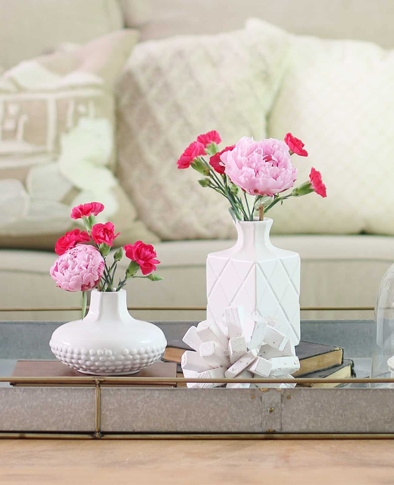 flowers summer decorating ideas for the living room