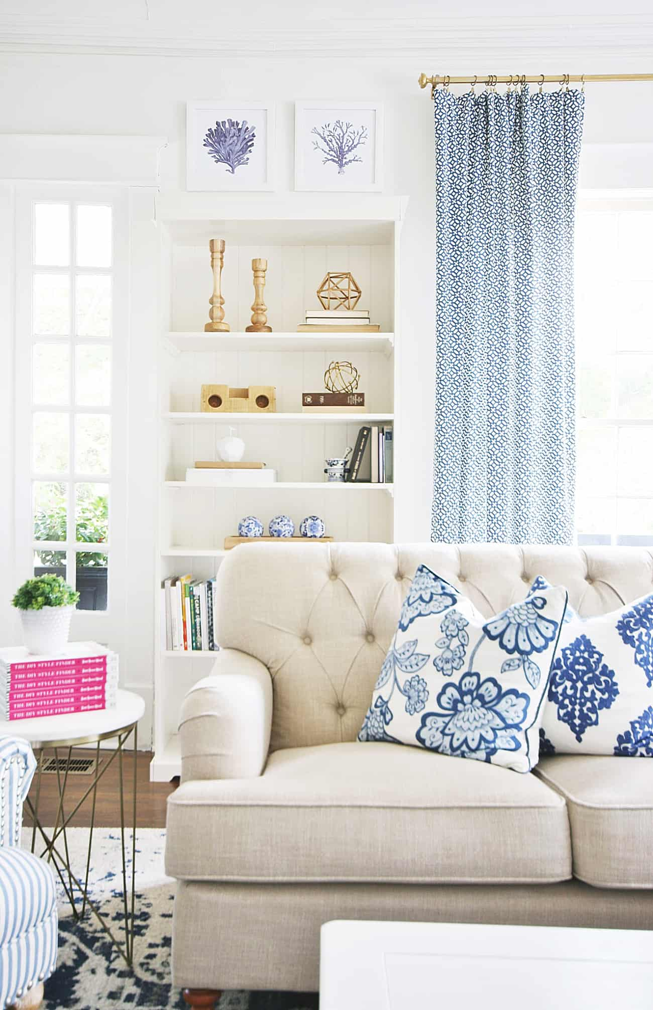 simple summer decorating ideas living room