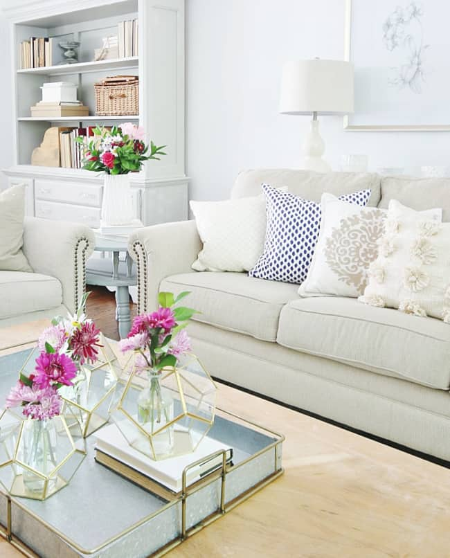 space saving solution family room