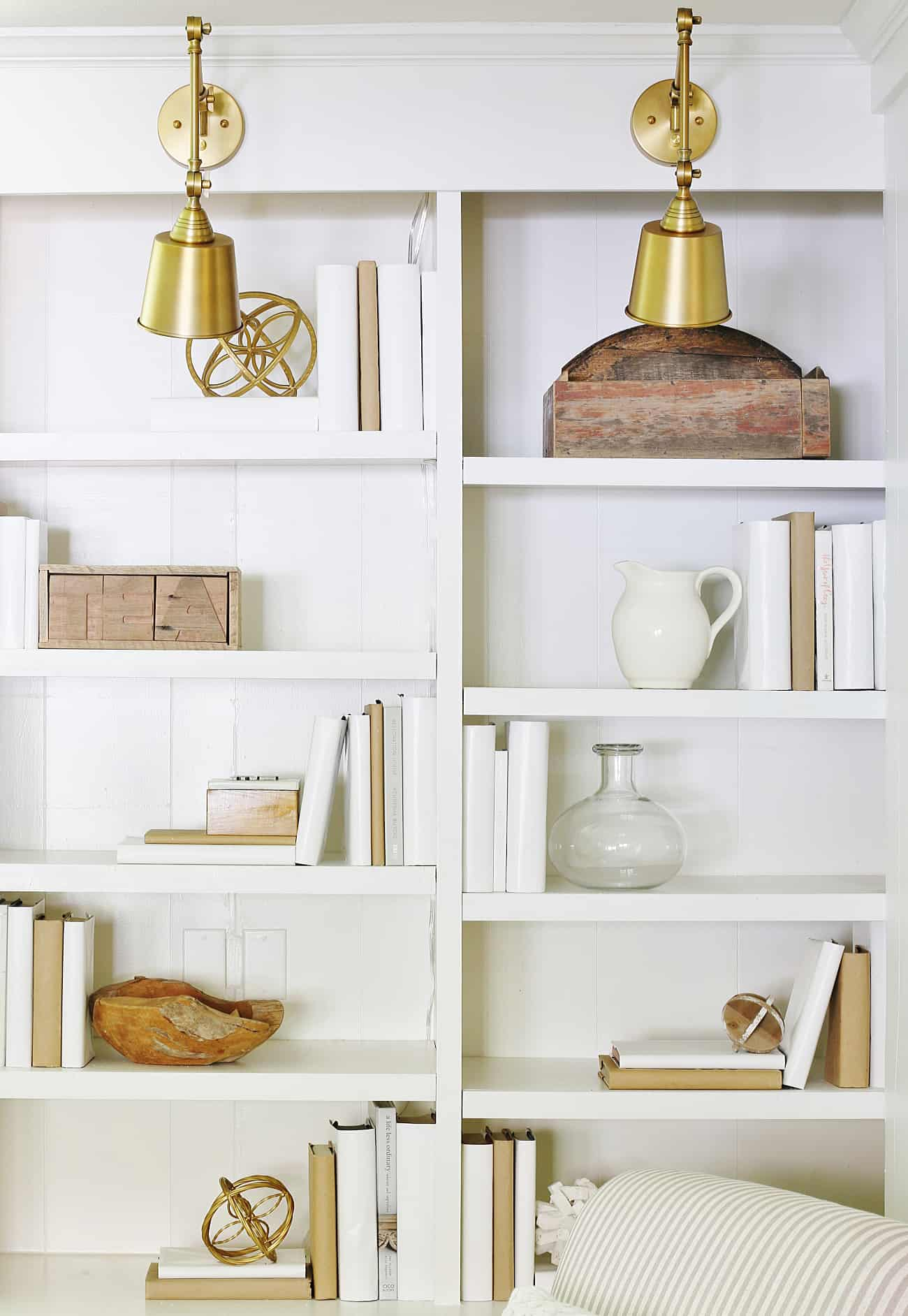 How To Add Lighting Any Bookcase
