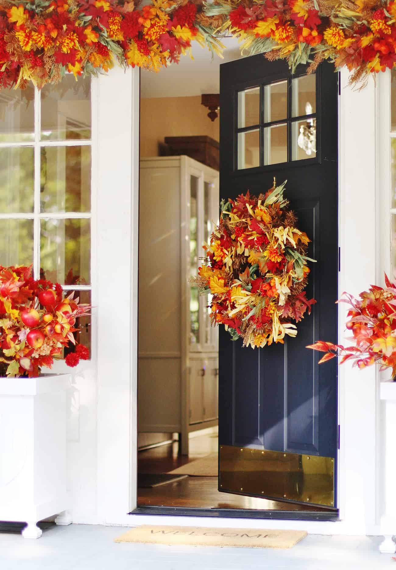 fall porch decorating ideas sunshine