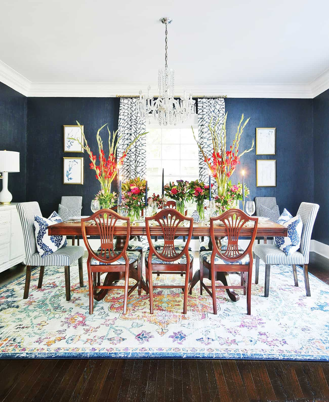 best blue gray paint colors dining room