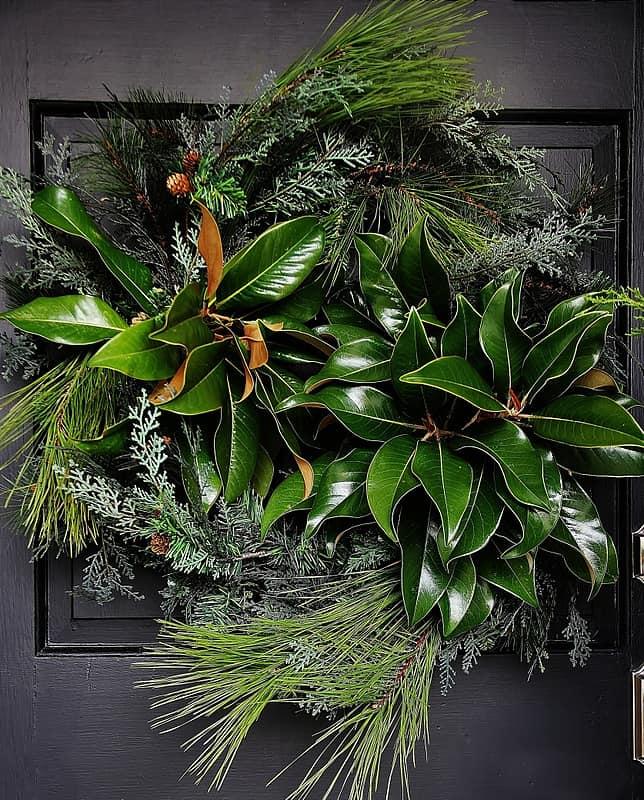 Christmas decorating ideas wreath