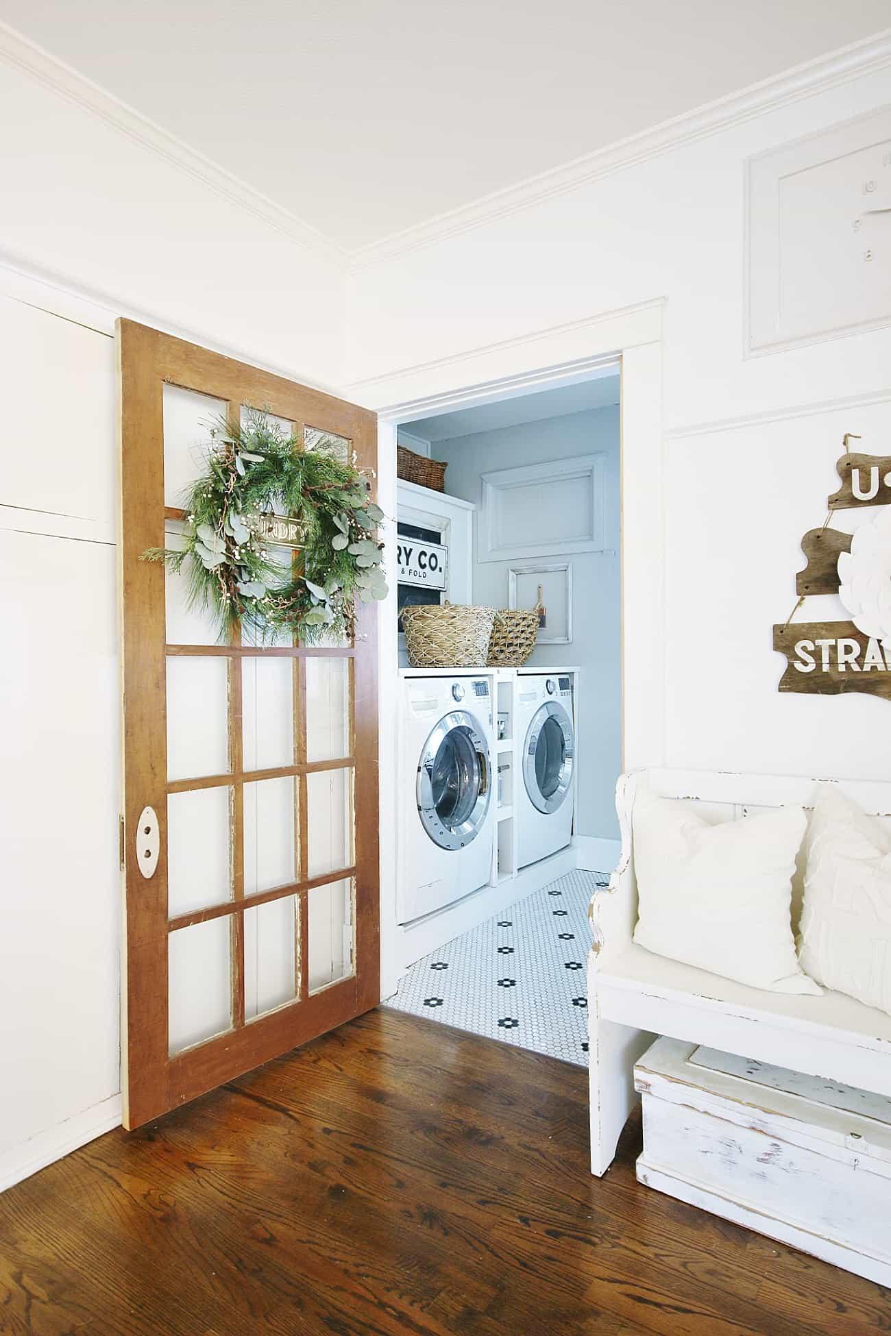 New Laundry Room Door