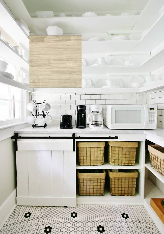 laundry room ideas grasscloth