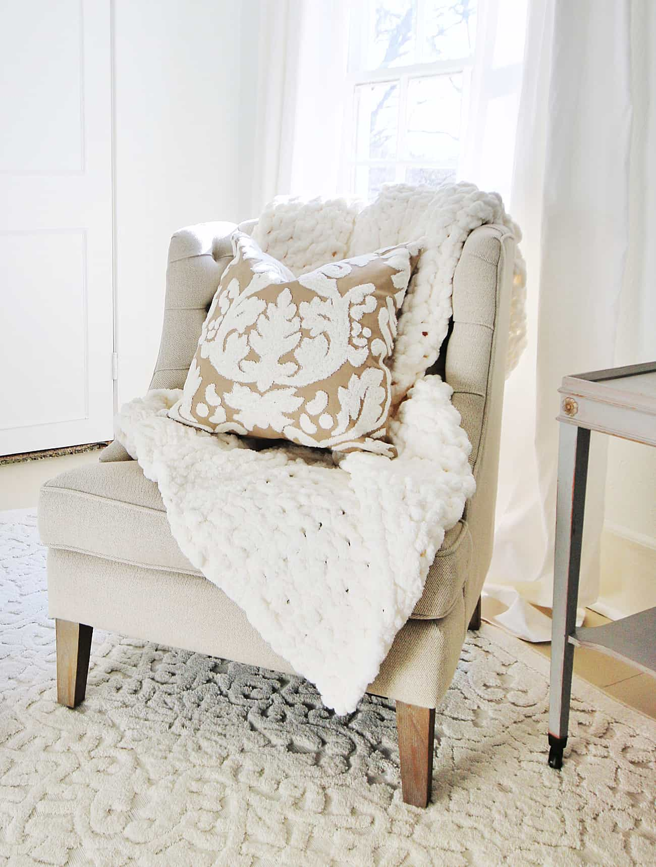 before and after bedroom chair