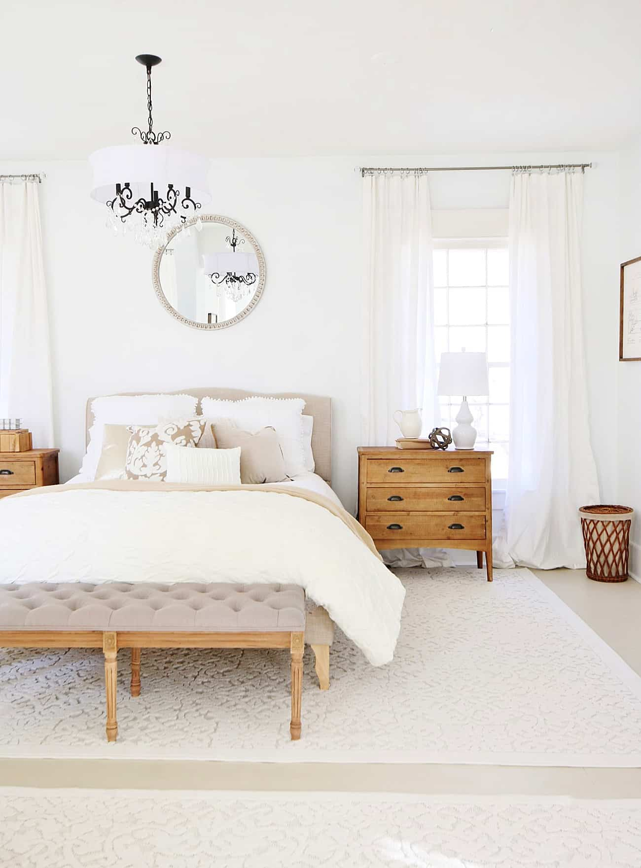 before and after bedroom farmhouse