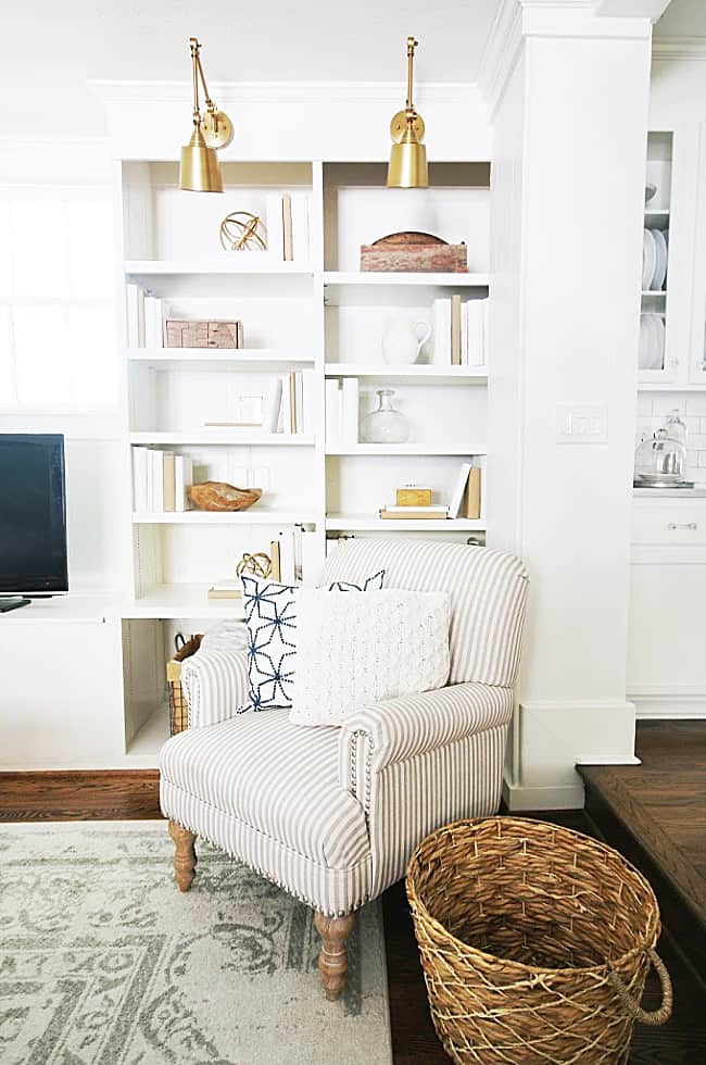how to choose a lamp shade living room