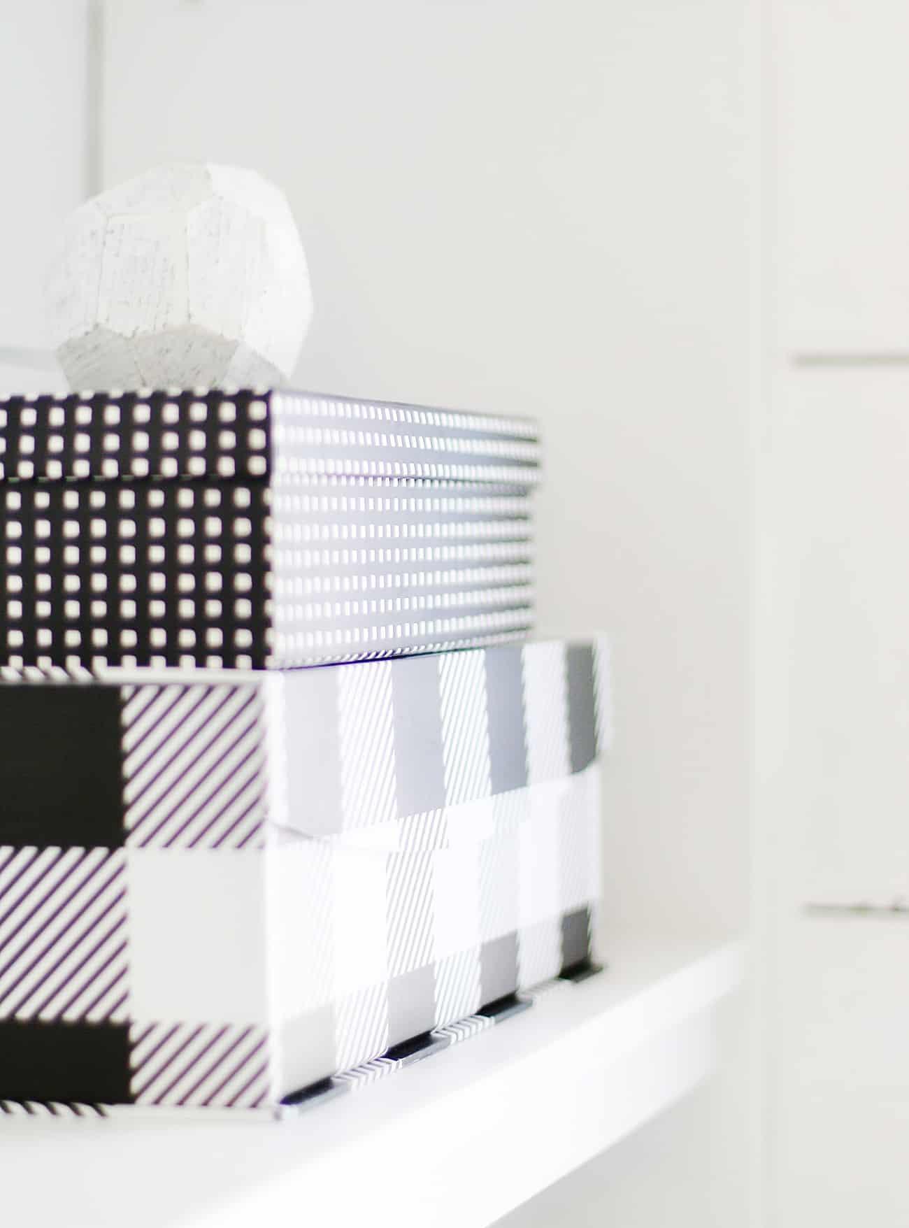 black and white decor ideas