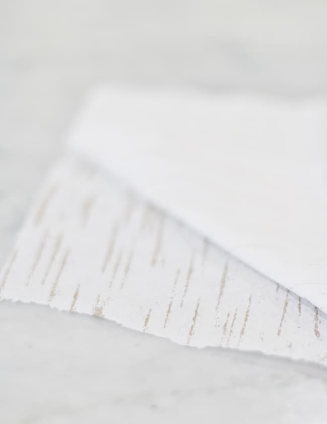 Easter DIY Crafts birch napkins