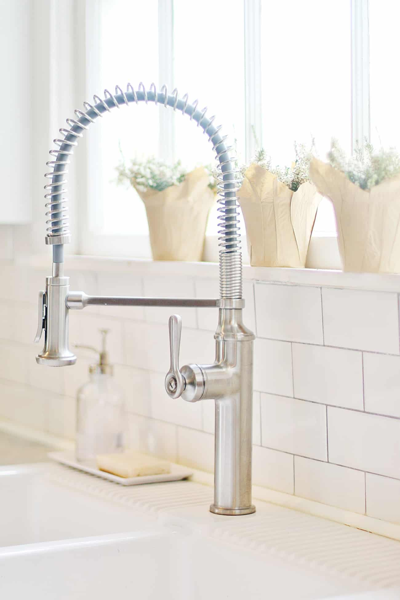 faucet in the spring home tour