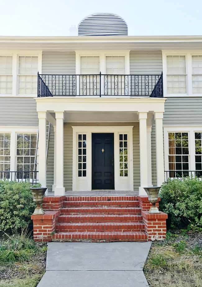 before and after exterior decorating ideas painting ideas